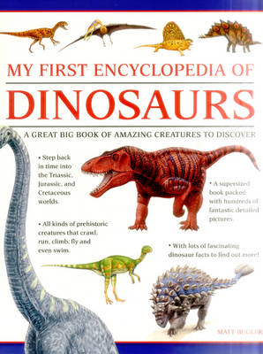 My First Encylopedia of Dinosaurs (Giant Size) (Paperback)