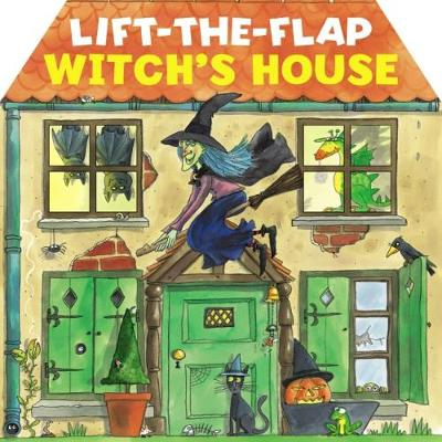 Lift-the-Flap Witch's House (Board book)