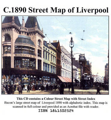 Street Map of Liverpool c.1890