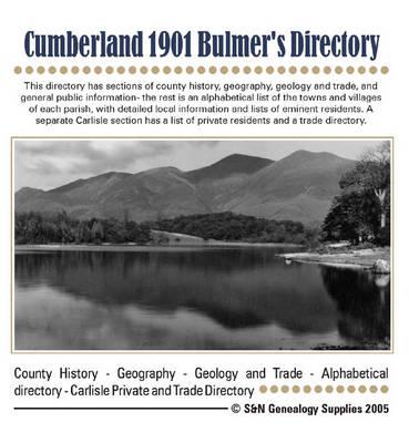Cumberland 1901 Bulmer's Directory (CD-ROM)