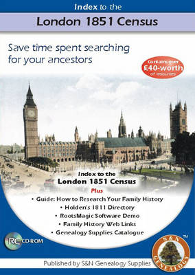 London 1851 Census Complete Name Index (CD-ROM)