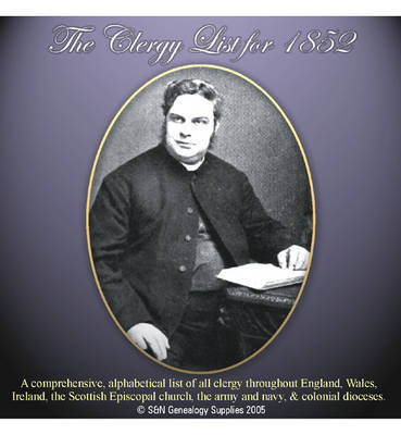 Clergy List 1852 (CD-ROM)