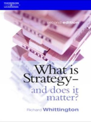 What Is Strategy and Does It Matter? (Paperback)