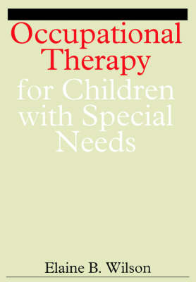 Occupational Therapy for Children with Special Needs (Paperback)