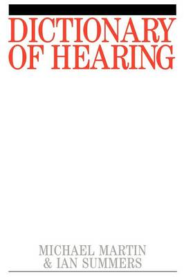 Dictionary of Hearing and Acoustics - Exc Business and Economy (Paperback)