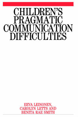 Children's Pragmatic Communication Difficulties (Paperback)