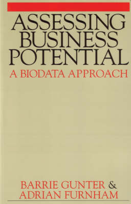 Assessing Business Potential: A Biodata Approach (Paperback)
