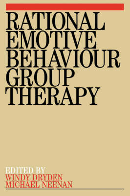 Rational Emotive Behaviour Group Therapy (Paperback)