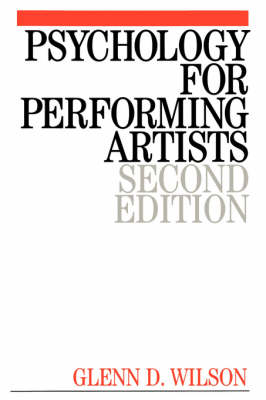 Psychology for Performing Artists: Butterflies and Bouquets (Paperback)