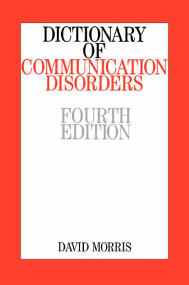 Dictionary of Communication Disorders (Paperback)