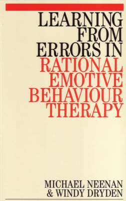 Learning from Errors in Rational Emotive Behaviour Therapy (Paperback)