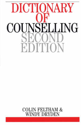 Dictionary of Counselling (Paperback)