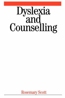 Dyslexia and Counselling (Paperback)