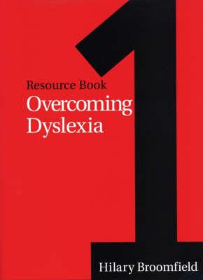 Overcoming Dyslexia: Resource Book 1 - Dyslexia Series  (Whurr) (Paperback)