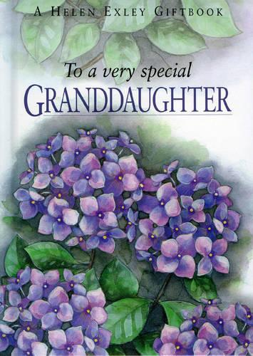To a Very Special Granddaughter - To-Give-and-to-Keep S. (Hardback)