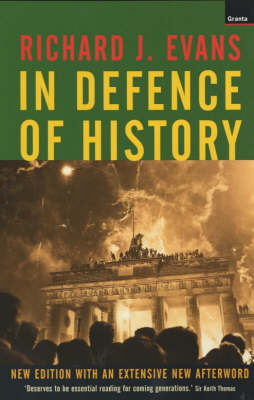In Defence of History (Paperback)