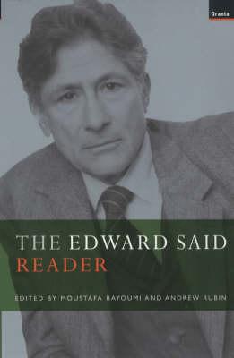 Edward Said Reader (Paperback)
