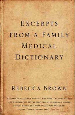 Excerpts from a Family Medical Dictionary (Hardback)