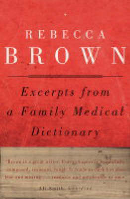 Excerpts from a Family Medical Dictionary (Paperback)