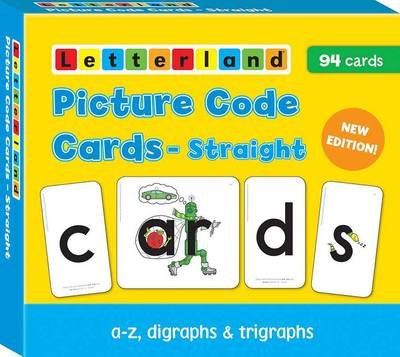 Straight Picture Code Cards - Letterland S.