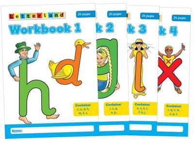 letterland workbooks no 1 4 by maggie downer katie baxendale