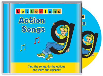 Action Songs - Letterland S. (CD-Audio)