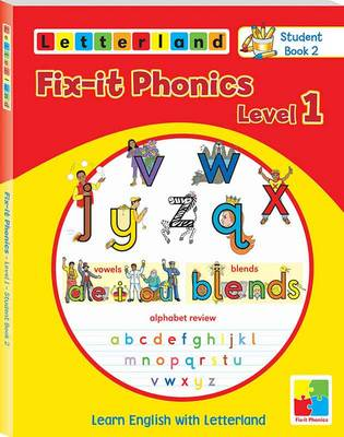 Fix-it Phonics: Studentbook 2 Level 1: Learn English with Letterland (Paperback)