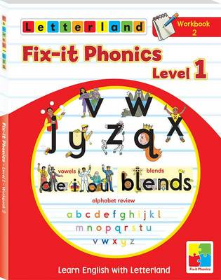 Fix-it Phonics: Workbook 2 Level 1: Learn English with Letterland (Paperback)
