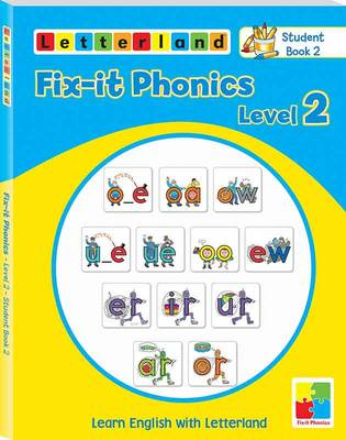 Fix-it Phonics: Studentbook 2 Level 2: Learn English with Letterland (Paperback)