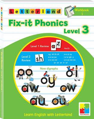 Fix-it Phonics: Workbook 1 Level 3: Learn English with Letterland (Paperback)
