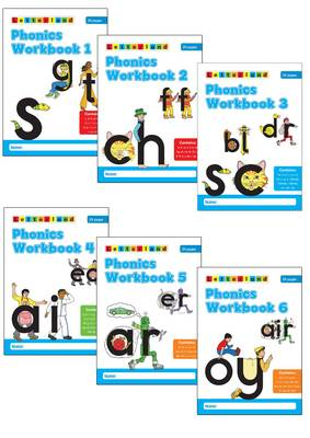 Phonics Workbooks (1-6) (Paperback)
