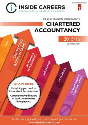 Inside Careers Guide to Chartered Accountancy 2015/16 (Paperback)