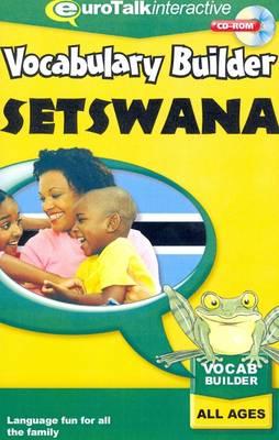 Vocabulary Builder - Setswana - Vocabulary Builder (CD-ROM)