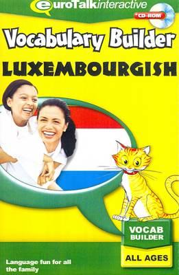 Vocabulary Builder - Luxembourghish - Vocabulary Builder (CD-ROM)