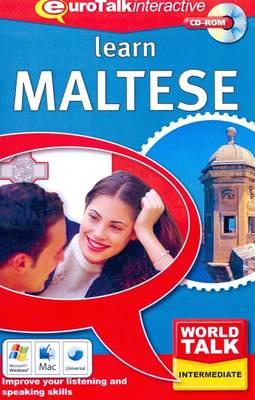 World Talk - Learn Maltese: Improve Your Listening and Speaking Skills - World Talk (CD-ROM)