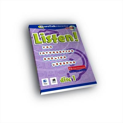 Listen! Ten Interactive English Lessons: 1 (CD-ROM)