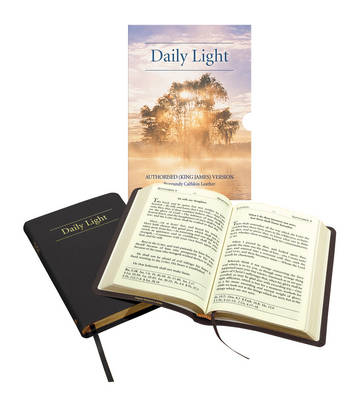 Daily Light - Christian Classic: Authorised (King James) Version: Daily Devotional Scripture Readings (Leather / fine binding)