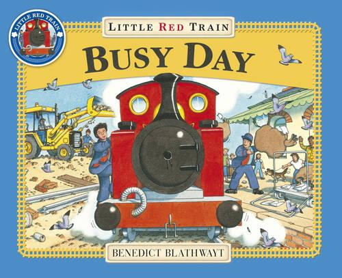 Little Red Train: Busy Day (Paperback)