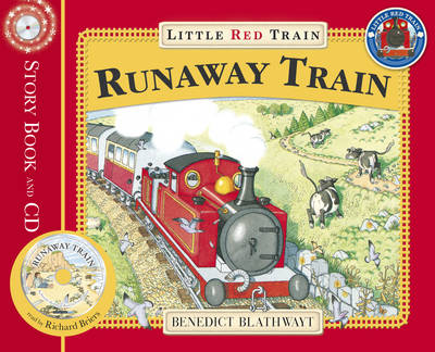 Little Red Train: The Runaway Train (Paperback)