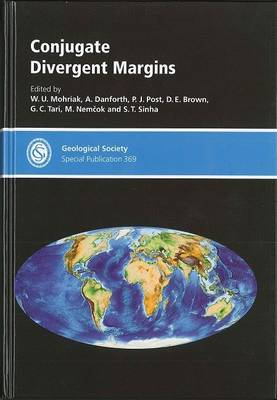 Conjugate Divergent Margins - Geological Society of London Special Publications No. 369 (Hardback)