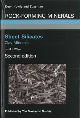 Rock-Forming Minerals: Sheet Silicates: Clay Minerals Volume 3C (Hardback)