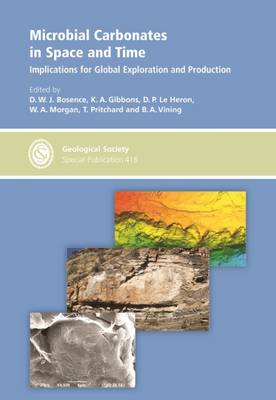 Microbial Carbonates in Space and Time: Implications for Global Exploration and Production - Geological Society Special Publications 418 (Hardback)