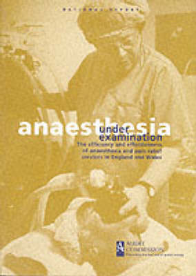 Anaesthesia Under Examination: The Efficiency and Effectiveness of Anaesthesia and Pain Relief Services in England and Wales - Health Studies (Paperback)