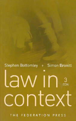 Law in Context (Paperback)