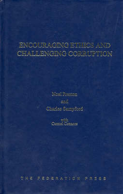 Encouraging Ethics and Challenging Corruption (Hardback)