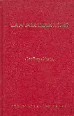 Law for Directors (Hardback)