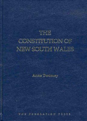 The Constitution of New South Wales (Hardback)