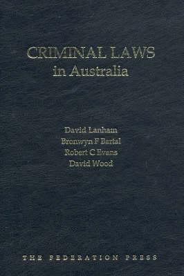 Criminal Laws in Australia (Hardback)