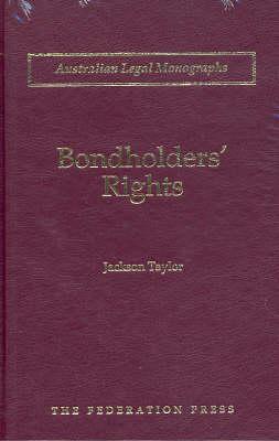 Bondholders' Rights (Hardback)