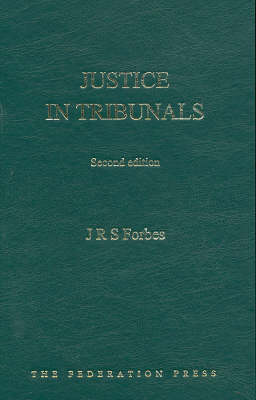 Justice in Tribunals (Hardback)